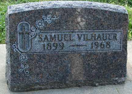 VILHAUER, SAMUEL - Minnehaha County, South Dakota | SAMUEL VILHAUER - South Dakota Gravestone Photos