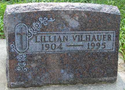 VILHAUER, LILLIAN - Minnehaha County, South Dakota | LILLIAN VILHAUER - South Dakota Gravestone Photos