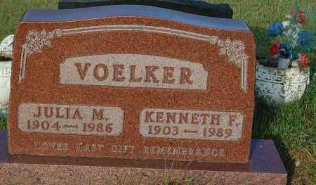 VOELKER, JULIA M. - Minnehaha County, South Dakota | JULIA M. VOELKER - South Dakota Gravestone Photos