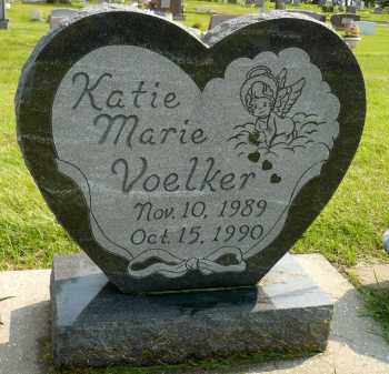 VOELKER, KATIE MARIE - Minnehaha County, South Dakota | KATIE MARIE VOELKER - South Dakota Gravestone Photos