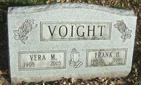 VOIGHT, FRANK H. - Minnehaha County, South Dakota | FRANK H. VOIGHT - South Dakota Gravestone Photos