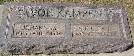 VON KAMPEN, JOHANN M. - Minnehaha County, South Dakota | JOHANN M. VON KAMPEN - South Dakota Gravestone Photos