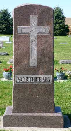 VORTHERMS, FAMILY MARKER - Minnehaha County, South Dakota | FAMILY MARKER VORTHERMS - South Dakota Gravestone Photos