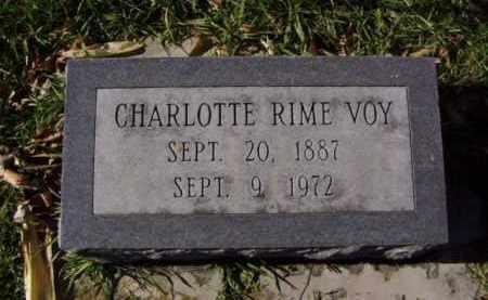 VOY, CHARLOTTE - Minnehaha County, South Dakota | CHARLOTTE VOY - South Dakota Gravestone Photos
