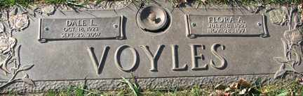 VOYLES, DALE L. SR. - Minnehaha County, South Dakota | DALE L. SR. VOYLES - South Dakota Gravestone Photos