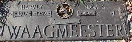 WAAGMEESTER, IONA  G. - Minnehaha County, South Dakota | IONA  G. WAAGMEESTER - South Dakota Gravestone Photos