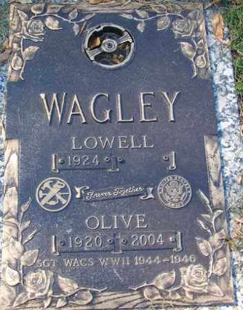 WAGLEY, LOWELL CLAIR - Minnehaha County, South Dakota | LOWELL CLAIR WAGLEY - South Dakota Gravestone Photos