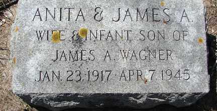 WAGNER, ANITA - Minnehaha County, South Dakota   ANITA WAGNER - South Dakota Gravestone Photos