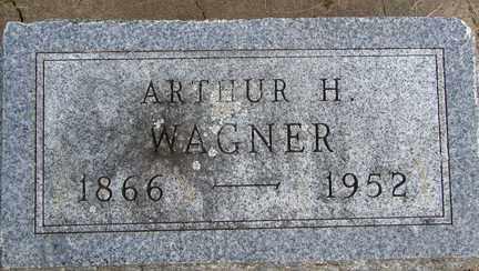 WAGNER, ARTHUR H. - Minnehaha County, South Dakota | ARTHUR H. WAGNER - South Dakota Gravestone Photos