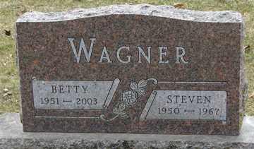 WAGNER, BETTY - Minnehaha County, South Dakota | BETTY WAGNER - South Dakota Gravestone Photos