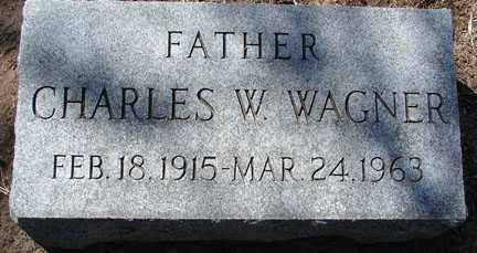 WAGNER, CHARLES W. - Minnehaha County, South Dakota | CHARLES W. WAGNER - South Dakota Gravestone Photos