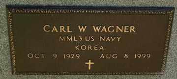 WAGNER, CARL W. (KOREA) - Minnehaha County, South Dakota   CARL W. (KOREA) WAGNER - South Dakota Gravestone Photos