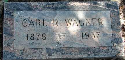 WAGNER, CARL R. - Minnehaha County, South Dakota   CARL R. WAGNER - South Dakota Gravestone Photos