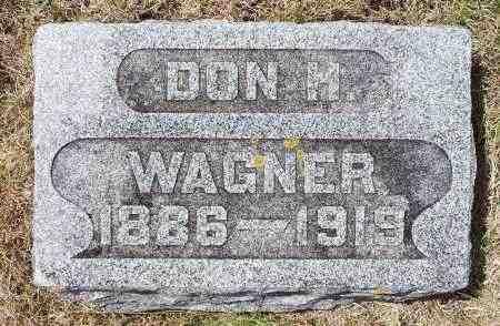 WAGNER, DON H. - Minnehaha County, South Dakota | DON H. WAGNER - South Dakota Gravestone Photos