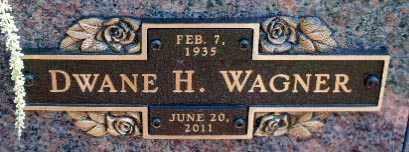 WAGNER, DWANE H. - Minnehaha County, South Dakota   DWANE H. WAGNER - South Dakota Gravestone Photos