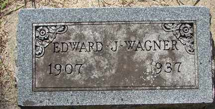 WAGNER, EDWARD J. - Minnehaha County, South Dakota | EDWARD J. WAGNER - South Dakota Gravestone Photos