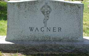 WAGNER, HEADSTONE - Minnehaha County, South Dakota   HEADSTONE WAGNER - South Dakota Gravestone Photos