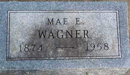 WAGNER, MAE E. - Minnehaha County, South Dakota | MAE E. WAGNER - South Dakota Gravestone Photos