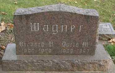 WAGNER, DORIS M. - Minnehaha County, South Dakota | DORIS M. WAGNER - South Dakota Gravestone Photos