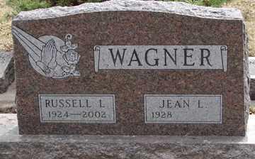 WAGNER, RUSSELL L. - Minnehaha County, South Dakota   RUSSELL L. WAGNER - South Dakota Gravestone Photos