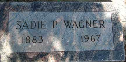 WAGNER, SADIE P. - Minnehaha County, South Dakota | SADIE P. WAGNER - South Dakota Gravestone Photos