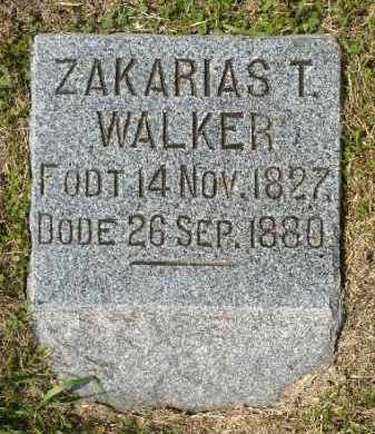 WALKER, ZAKARIAS T. - Minnehaha County, South Dakota | ZAKARIAS T. WALKER - South Dakota Gravestone Photos