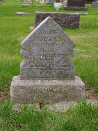 WALDRON, CLAIR - Minnehaha County, South Dakota | CLAIR WALDRON - South Dakota Gravestone Photos