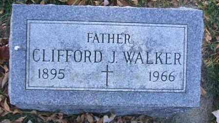 WALKER, CLIFFORD J. - Minnehaha County, South Dakota | CLIFFORD J. WALKER - South Dakota Gravestone Photos