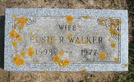 WALKER, ELSIE R. - Minnehaha County, South Dakota | ELSIE R. WALKER - South Dakota Gravestone Photos