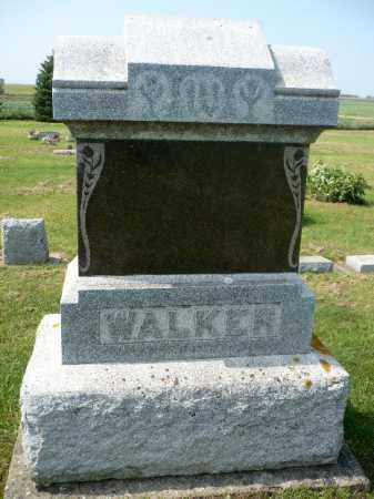 WALKER, FAMILY MARKER - Minnehaha County, South Dakota | FAMILY MARKER WALKER - South Dakota Gravestone Photos