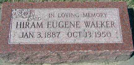 WALKER, HIRAM EUGENE - Minnehaha County, South Dakota | HIRAM EUGENE WALKER - South Dakota Gravestone Photos