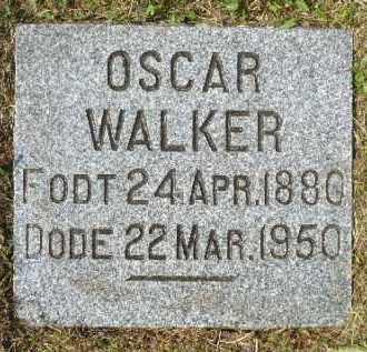 WALKER, OSCAR - Minnehaha County, South Dakota | OSCAR WALKER - South Dakota Gravestone Photos