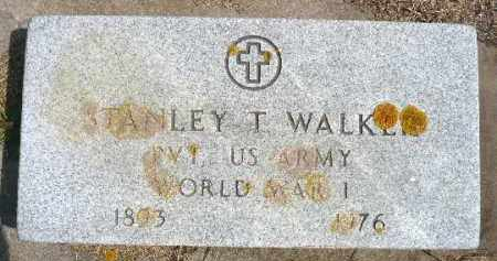 WALKER, STANLEY T. (WWI) - Minnehaha County, South Dakota   STANLEY T. (WWI) WALKER - South Dakota Gravestone Photos