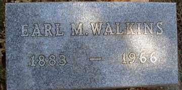 WALKINS, EARL M. - Minnehaha County, South Dakota | EARL M. WALKINS - South Dakota Gravestone Photos