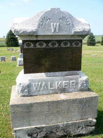 WALKER, FAMILY STONE - Minnehaha County, South Dakota | FAMILY STONE WALKER - South Dakota Gravestone Photos