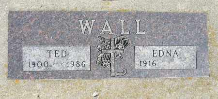 WALL, EDNA - Minnehaha County, South Dakota   EDNA WALL - South Dakota Gravestone Photos