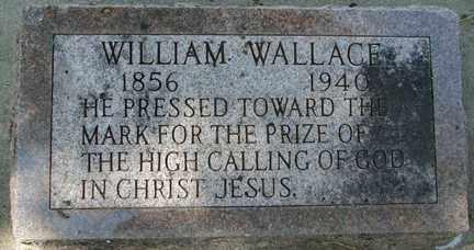 WALLACE, WILLIAM - Minnehaha County, South Dakota | WILLIAM WALLACE - South Dakota Gravestone Photos