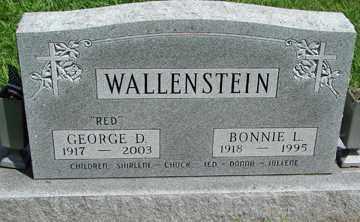 WALLENSTEIN, BONNIE L. - Minnehaha County, South Dakota | BONNIE L. WALLENSTEIN - South Dakota Gravestone Photos