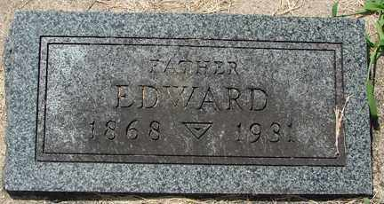 WALSER, EDWARD - Minnehaha County, South Dakota | EDWARD WALSER - South Dakota Gravestone Photos