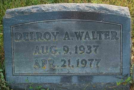 WALTER, DELROY A. - Minnehaha County, South Dakota | DELROY A. WALTER - South Dakota Gravestone Photos