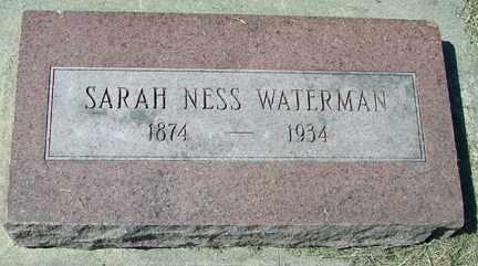 WATERMAN, SARAH - Minnehaha County, South Dakota | SARAH WATERMAN - South Dakota Gravestone Photos