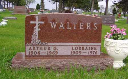 WALTERS, ARTHUR G. - Minnehaha County, South Dakota | ARTHUR G. WALTERS - South Dakota Gravestone Photos
