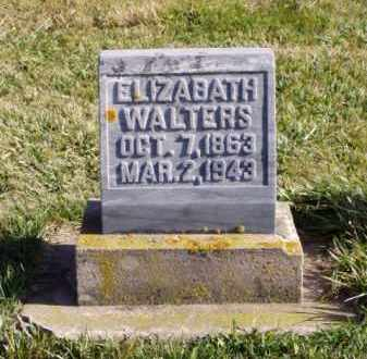 STOUT WALTERS, ELIZABETH - Minnehaha County, South Dakota | ELIZABETH STOUT WALTERS - South Dakota Gravestone Photos
