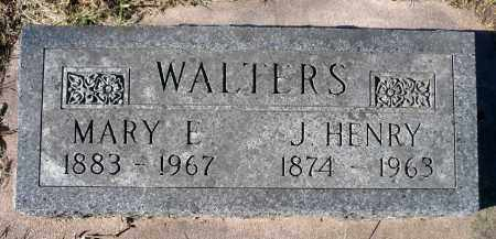PAGE WALTERS, MARY ELLEN - Minnehaha County, South Dakota | MARY ELLEN PAGE WALTERS - South Dakota Gravestone Photos