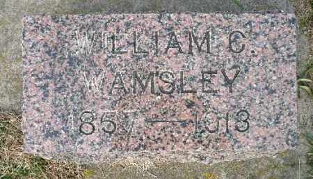 WAMSLEY, WILLIAM C. - Minnehaha County, South Dakota | WILLIAM C. WAMSLEY - South Dakota Gravestone Photos