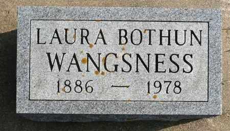 WANGSNESS, LAURA - Minnehaha County, South Dakota | LAURA WANGSNESS - South Dakota Gravestone Photos
