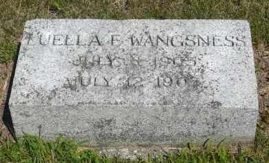 WANGSNESS, LUELLA F. - Minnehaha County, South Dakota | LUELLA F. WANGSNESS - South Dakota Gravestone Photos