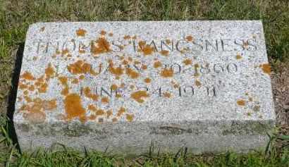 WANGSNESS, THOMAS - Minnehaha County, South Dakota   THOMAS WANGSNESS - South Dakota Gravestone Photos