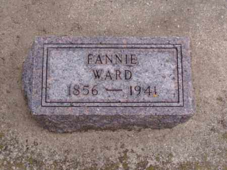 WARD, FANNIE - Minnehaha County, South Dakota | FANNIE WARD - South Dakota Gravestone Photos