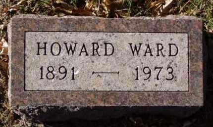 WARD, HOWARD - Minnehaha County, South Dakota | HOWARD WARD - South Dakota Gravestone Photos